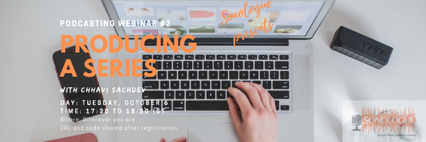 October 6, 2020, Webinar # 2 Producing your Series