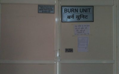 Domestic violence burns survivors get a fighting chance at a hospital in Indore—BBC World Service