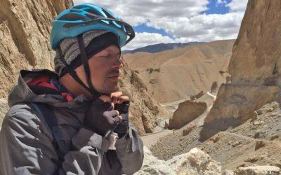 Biking up the Himalayas blind—DW WorldLink